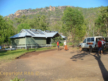 Garnamarr Campground on the way to Jim Jim Falls carpark | credits Rob Berude