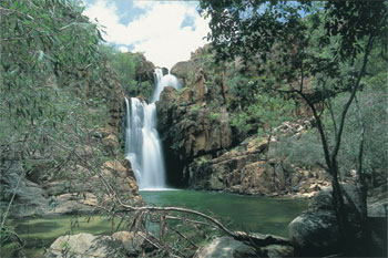 Southern Rockhole is a seasonally flowing waterfall in Nitmiluk National Park  |  Credits NTTC3095