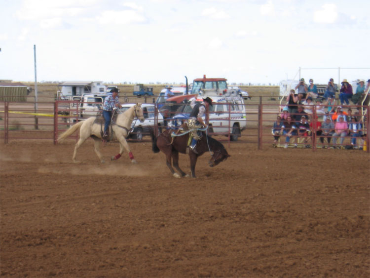 Winton rodeo Queensland buckjumping | Sorta of Top End country JPBerude