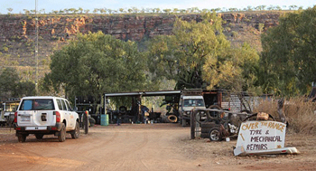 The Kimberley at Imintji - Over the range | Credits our client Alan F thanks buddy