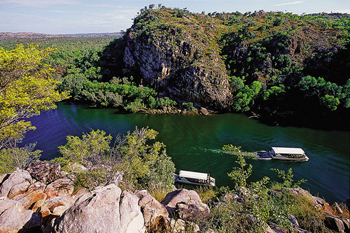 Katherine Gorge Cruise Nitmiluk  tours   |   Photo: Tourism  NT