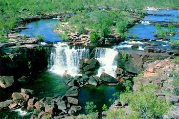 Top of Twin Falls Kakadu |  Credits NTTC2452